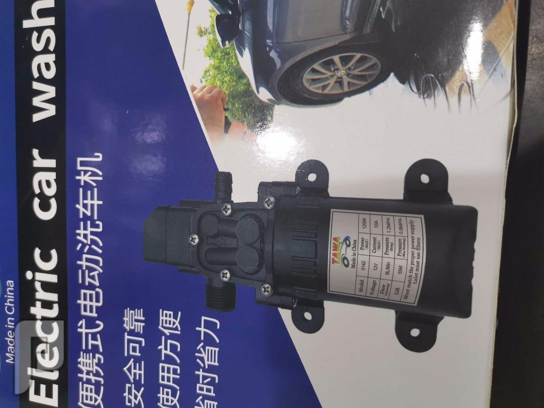 مضخة غسيل السيارة بكل سهولة ب180 شامل رسوم الشحن بزاجل