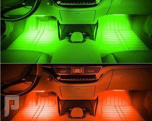نظام إضاءة داخليه للسيارة 16 لون بريموت كنترول