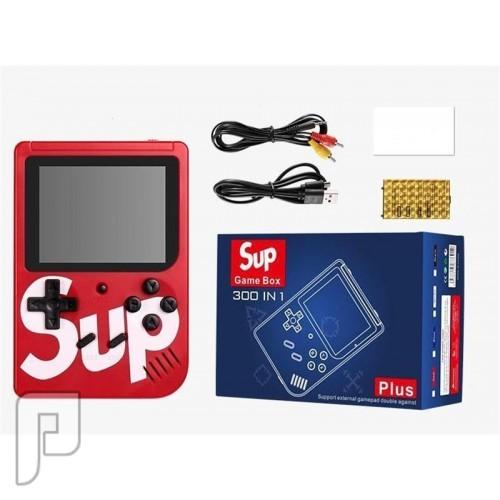 جهاز ألعاب SUP محمول كلاسيكي صغير مزود بـ400 لعبة