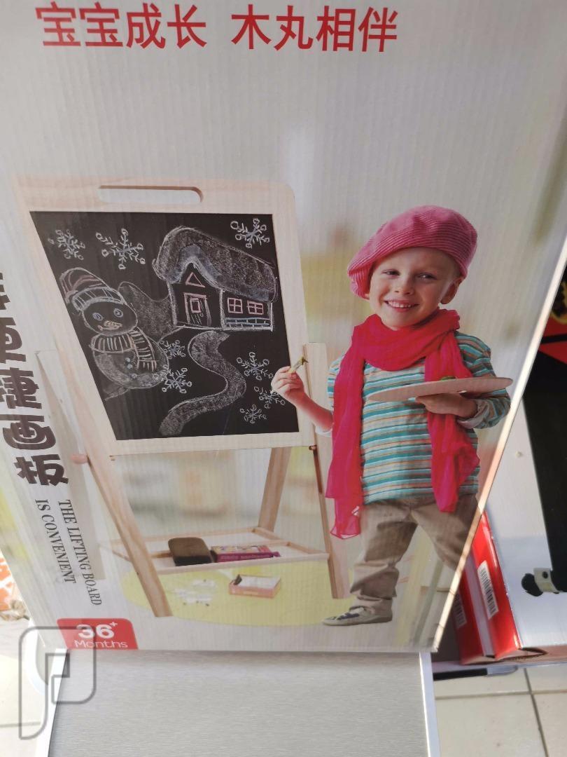 سبورة خشبية لتعليم الاطفال ب80 ريال