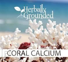 كبسولات الكالسيوم المرجاني لصحة العظام.