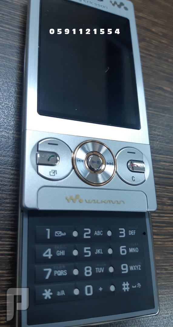 جوال سوني اريكسون Sony Ericsson w705  سحاب - جديد