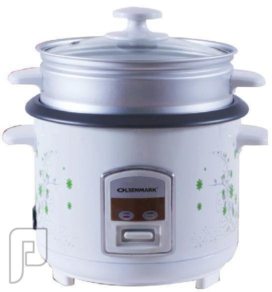 طباخ الارز  الصحي 3 في 1 من OLSENMARK سعة 1لتر ضمان سنتين