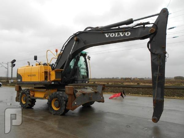IT# 984-2008 Volvo EW180C Wheeled Excavator, CV, Piped