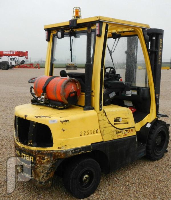 IT#327 -2006 HYSTER H3.5 FT Forklift