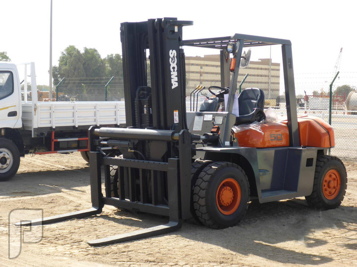 IT# 21-2014 UNUSED SOCMA FD50T 5 Ton Forklift