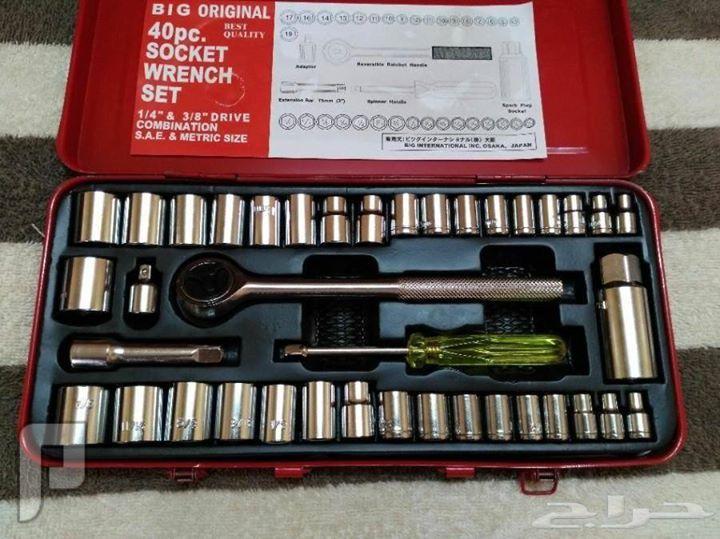 شنطة معدات يابانية أصلية مع منفاخ كفرات