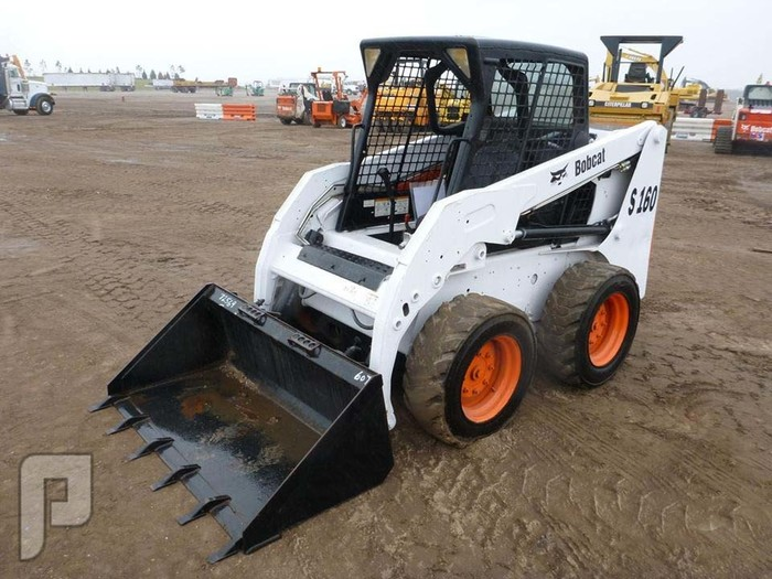 IT# 3119 2008 BOBCAT S160 Skid Steer Loader AM