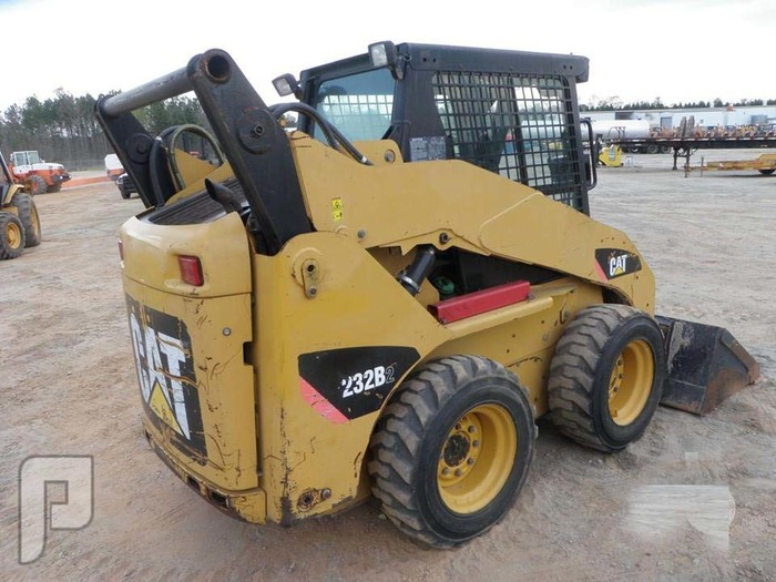 IT# 58-2008 CAT 232B2 Skid Steer Loader
