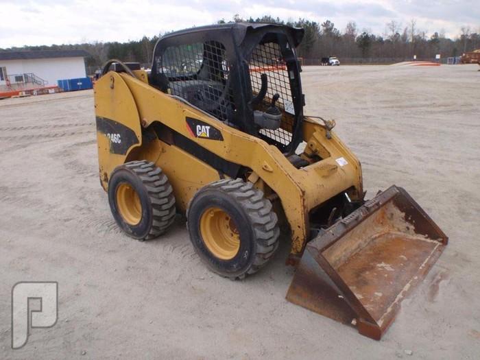 IT# 29 -2010 CAT 246C SKID STEER LODER AM