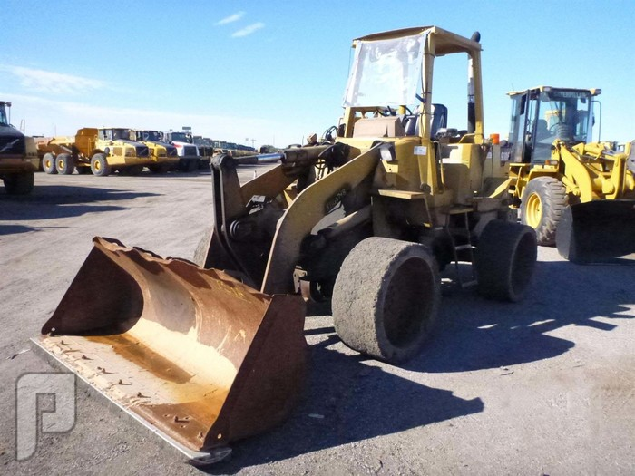IT# 1759A - 1994 CATERPILLAR 910F Wheel Loader AM