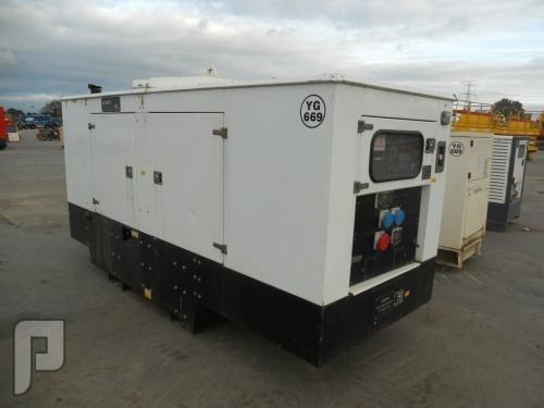 IT#2067 - 2007 -Genset MG150SSP 150Kva Generator -