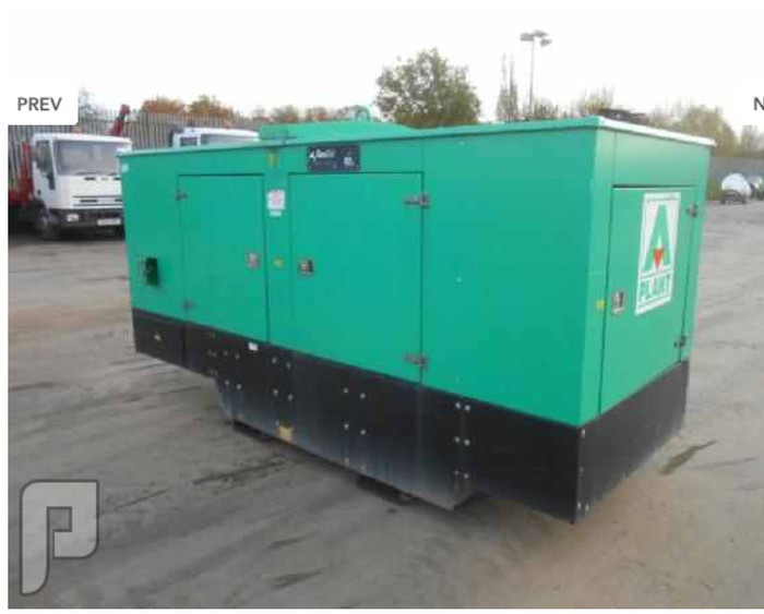 IT# 413 2007 Genset MG150SSP 150Kva Generator