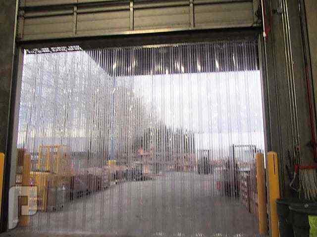 ستائر شفافه للمستودعات والثلاجات والسوبرماركت والبقالات