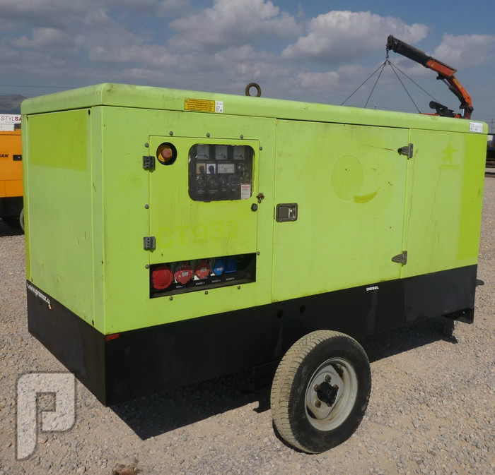 IT#479 2006 PRAMAC GSW65 65 KVA Portable Gen Set (10-249 kW12.5-310 kVA