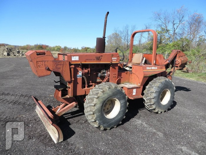 IT# 232- 1984 DITCH WITCH 6510DD Cable Plow am12