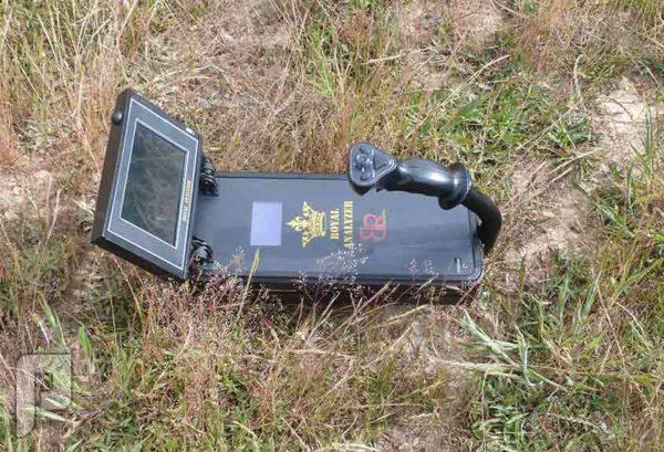 المحلل الملكي جهاز تصويري للذهب وكنوز باطن الأرض