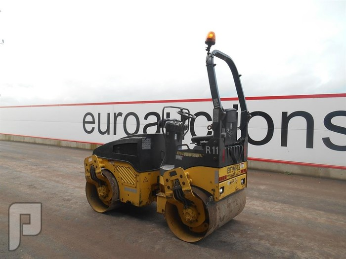 IT# 217-2007 Bomag BW120AD-4 Double Drum Vibrating Roller
