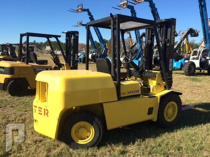 IT# 4833 HYSTER H110XL FORKLIFT
