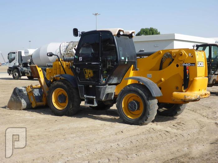 IT# 49-2011 JCB 540-170 4x4x4 Telescopic Forklift