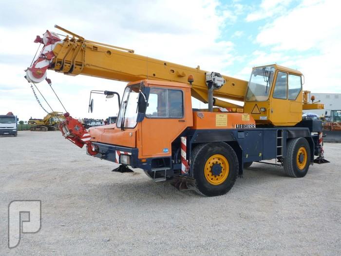 IT# 2179-1992 LIEBHERR LTM1025 All Terrain Crane