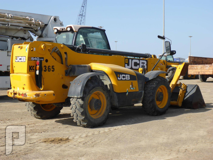 IT# 50-2011 JCB 540-170 Telescopic Forklift