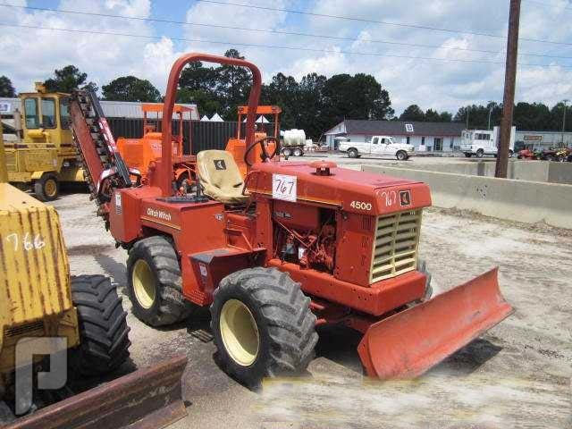 IT# 767-1996 Ditch Witch 4500DD Trencher