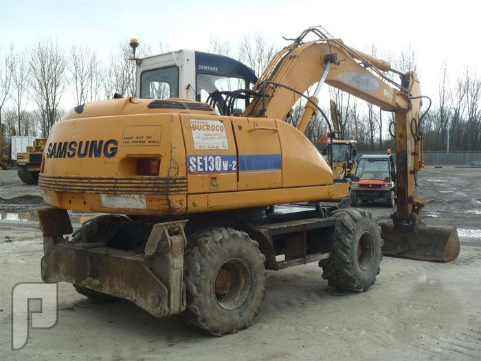 IT#316-1994 SAMSUNG SE130W Mobile Excavator