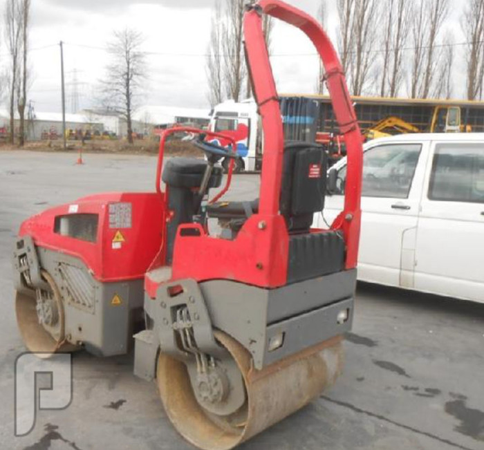 IT# 353-2006 Bomag BW100AD-4 Double Drum Vibrating Roller