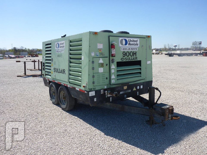 IT# 818-2008 SULLAIR 900BHDTQCA3 900 CFM TA Air Compressor