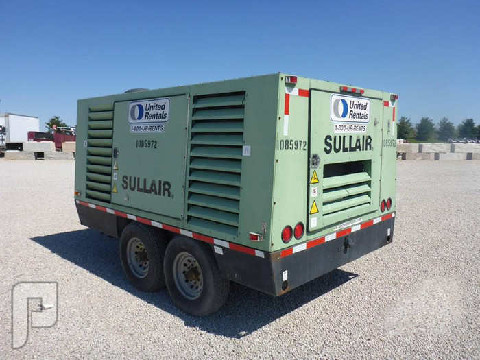 IT# 818-2008 SULLAIR 900BHDTQCA3 900 CFM TA Air Compressor