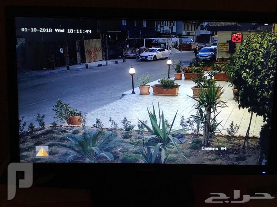 كاميرات مراقبة للمنازل والفيلل والمحلات