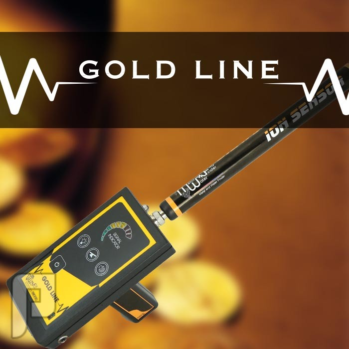 جولد لاين جهاز استشعاري في كشف الذهب والمعادن