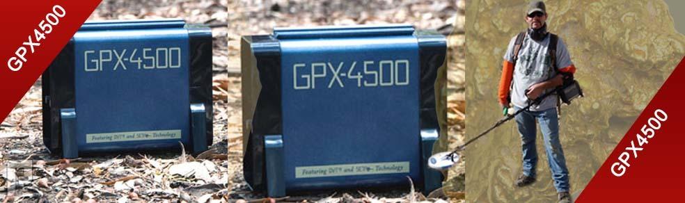 جهاز جي بي اكس4500 كاشف الذهب والمعادن