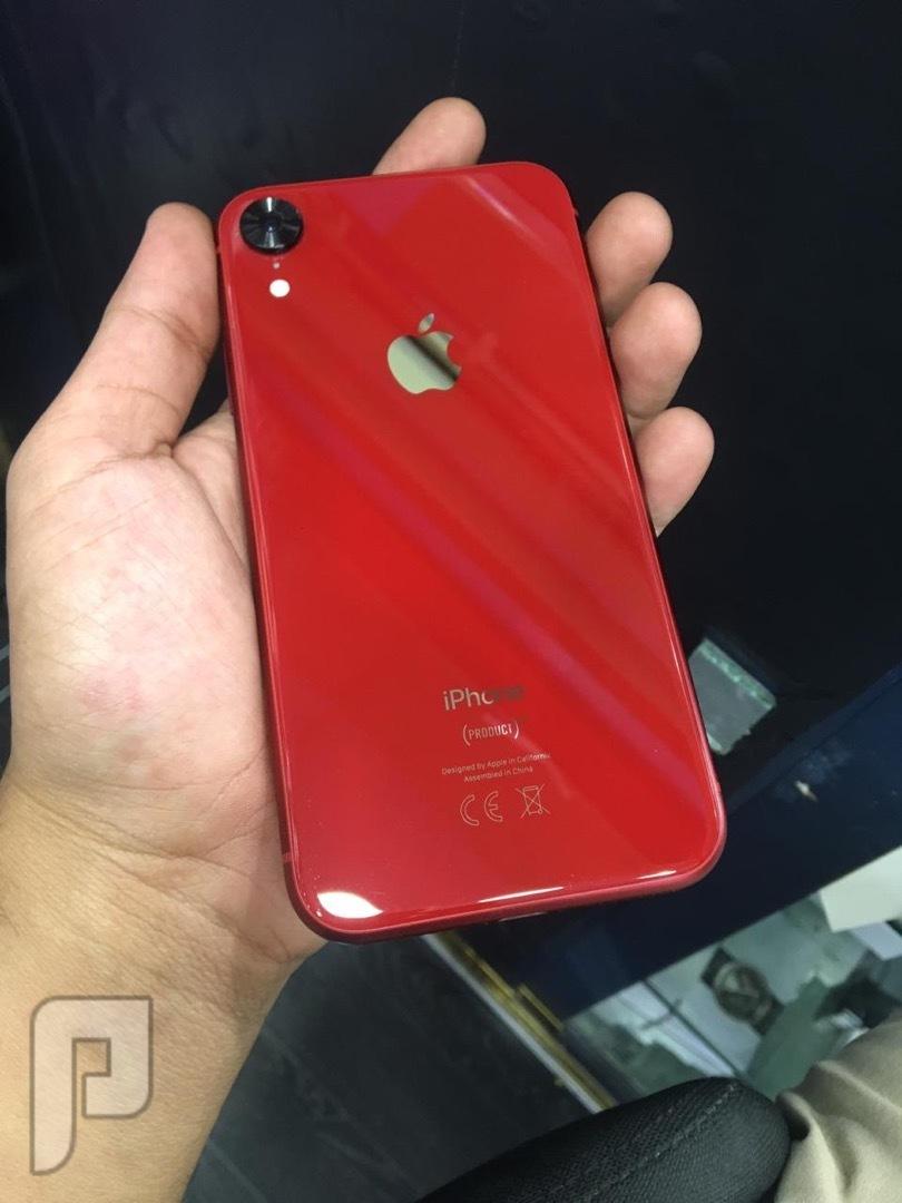 للبيع ايفون اكس ار 128 نظيف مستخدم