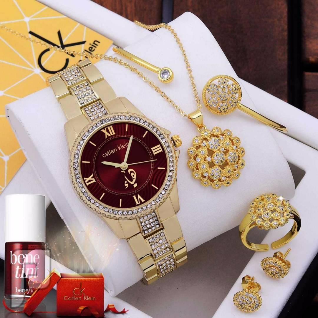 ساعة ماركة كاتلين كين تفصيل الاسم حسب الطلب