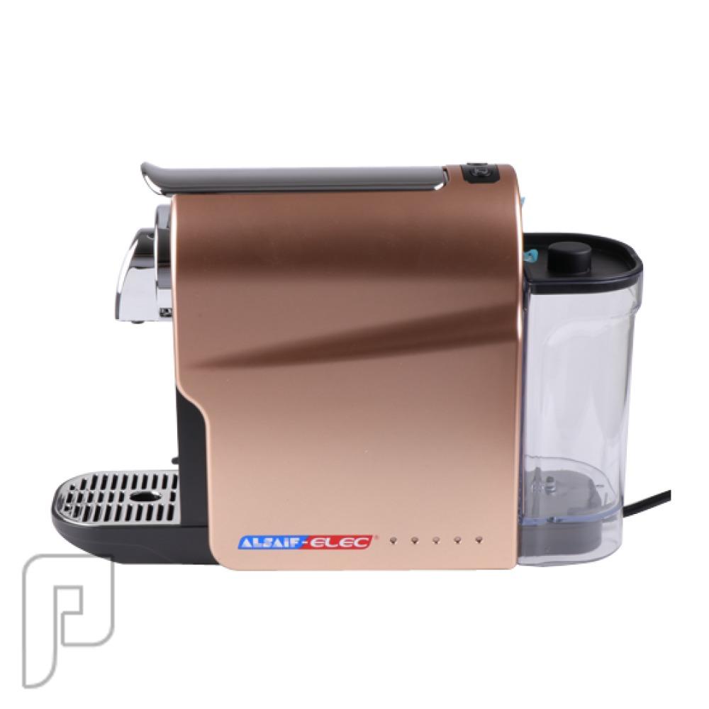 صانعة القهوة الكهربائية - اسبريسو كبسولات