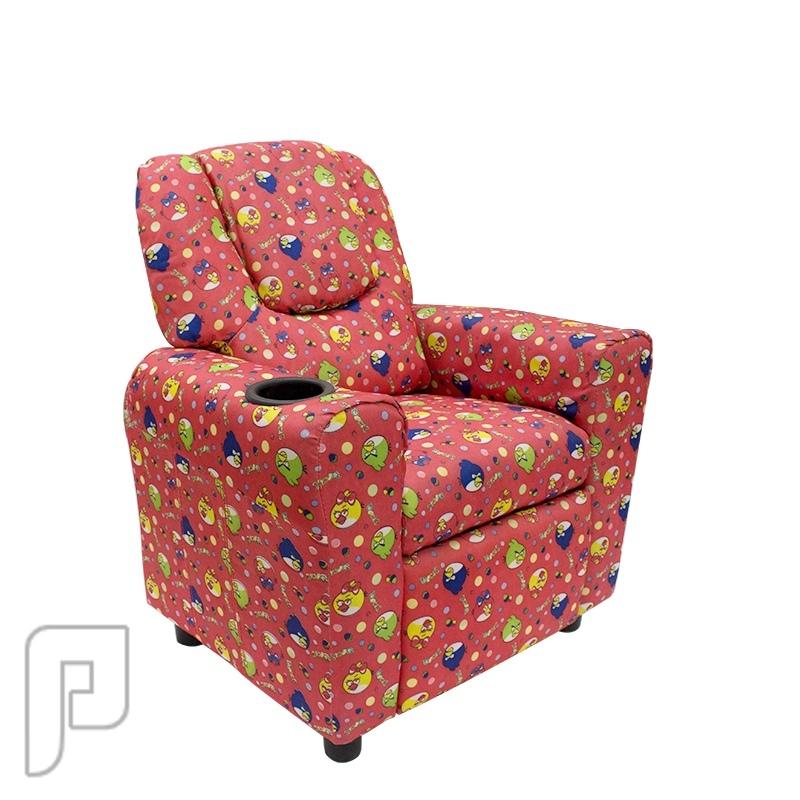 كرسي راحة للأطفال مع حامل اكواب