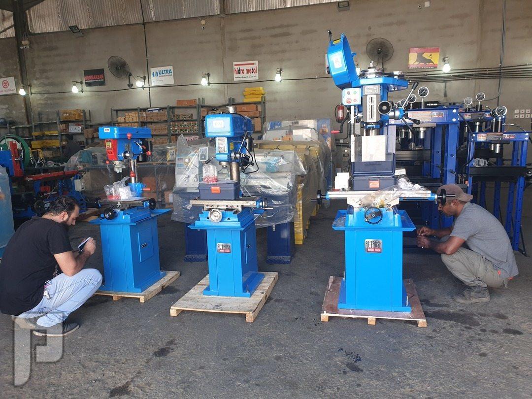 vertical milling machines فريزا عامودية مثقاب عدة مقاسات