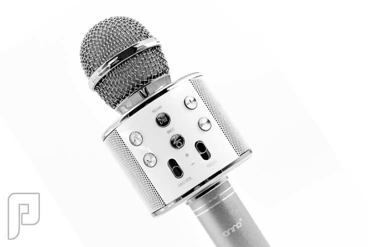 ميكروفون مع مكبر صوت
