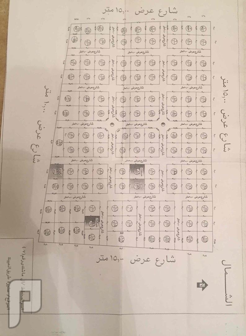 اراضي للبيع في عشيره شمال الطائف