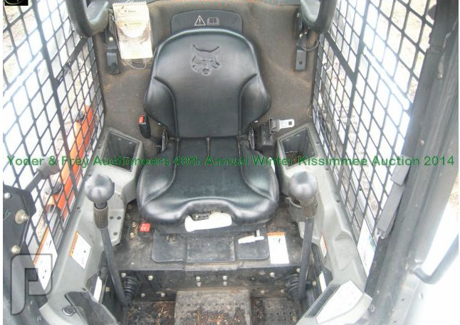 IT# 2540 2012 Bobcat S650 Skid Steer Loader AM