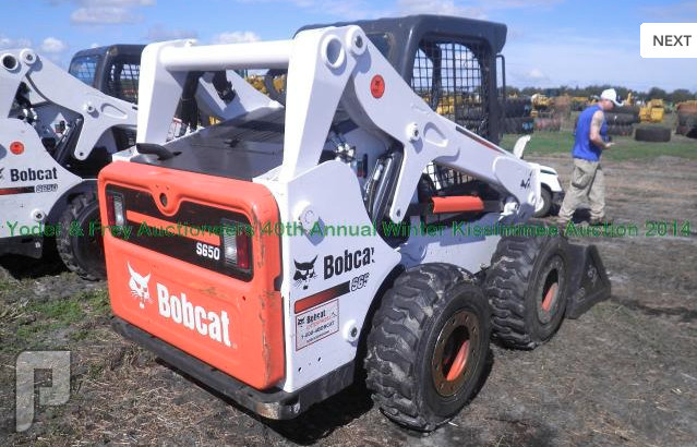 IT# 2531 2013 Bobcat S650 Skid Steer Loader AM