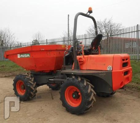 IT#522 2005 Ausa D600-APGX4 Swivel Skip Dumper