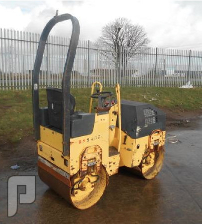 IT#378-2006 Bomag BW80AD-2 Double Drum Vibrating Roller