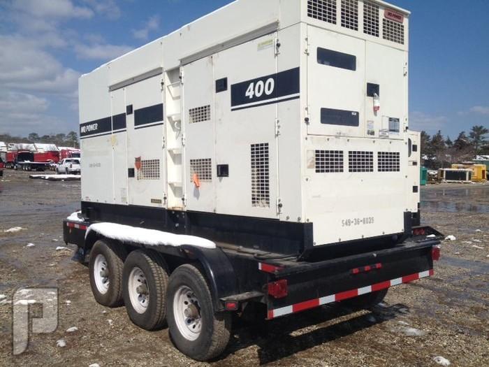 -IT#2578 - 2008 MULTIQUIP DCA-400SSK GENERATOR