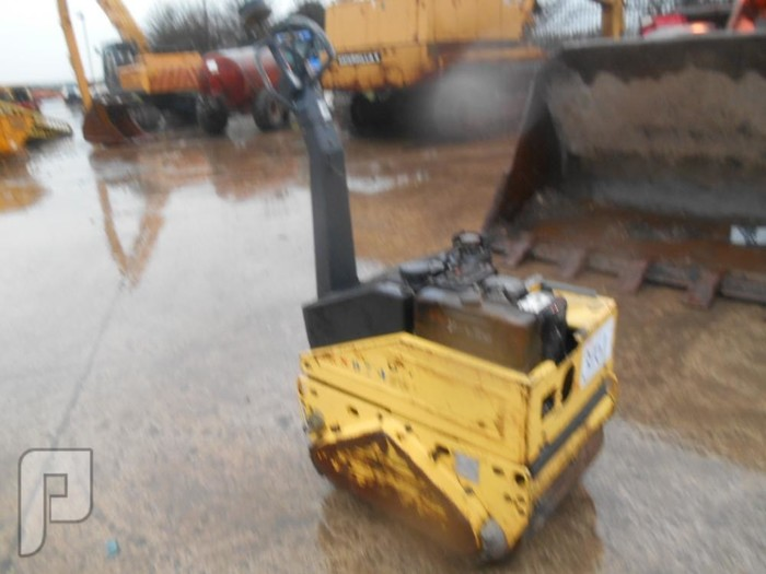 IT#3251 -2005 -Bomag BW65H Walk Behind Double Drum Vibrating Roller2