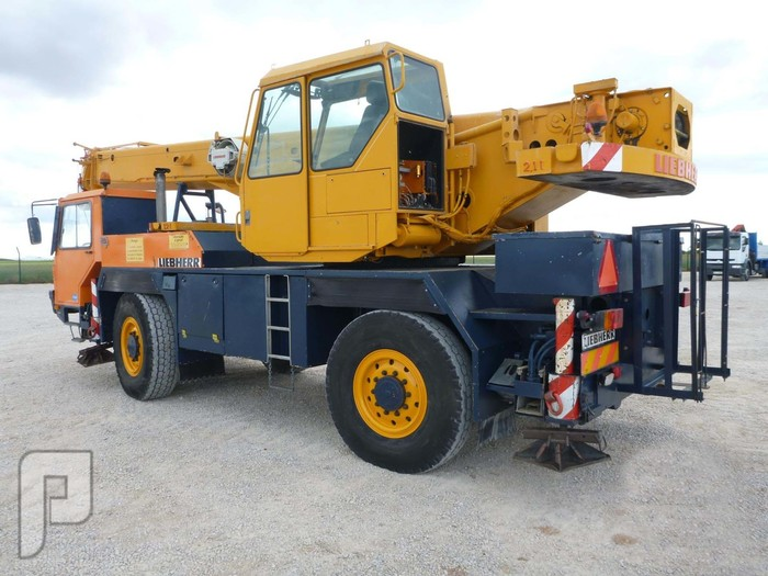 IT# 2179-1992 LIEBHERR LTM1025 All Terrain Crane