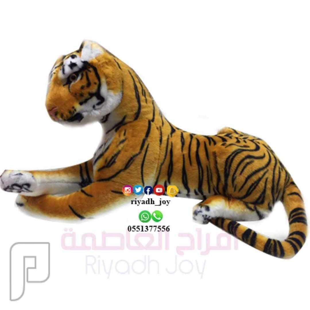 دميه نمر ،مناسبه لديكورات المنزل ،متوفر حجم وسط وصغير