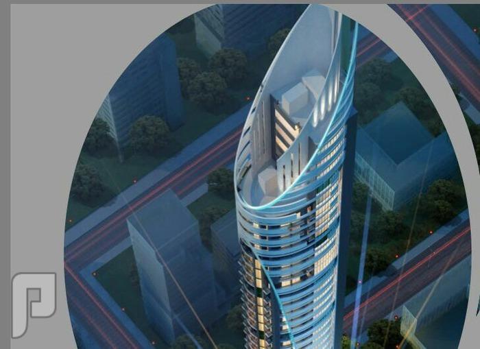 سارع بالحجز قبل زياده الاسعار برج خيالي ذو تصميم هندسي رائع